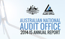 Australian National Audit Office Annual Report 2014-15 website thumbnail