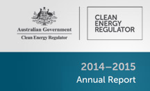 Clean Energy Regulator annual report 2014-15 thumbnail